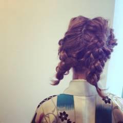 ミディアム 夏 ヘアスタイルや髪型の写真・画像