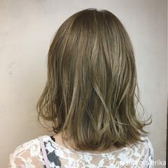 ラフ 外国人風カラー ナチュラル ボブ ヘアスタイルや髪型の写真・画像
