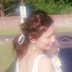 外国人風 ヘアアレンジ ミディアム ゆるふわ ヘアスタイルや髪型の写真・画像