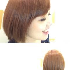 イエロー ピンク 愛され モテ髪 ヘアスタイルや髪型の写真・画像
