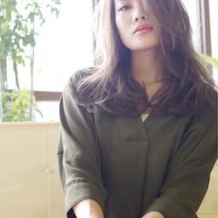 大人女子 コンサバ かっこいい アッシュ ヘアスタイルや髪型の写真・画像