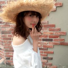 大人かわいい ゆるふわ ストリート ブラウン ヘアスタイルや髪型の写真・画像