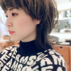 透明感 外国人風カラー ウルフカット マッシュ ヘアスタイルや髪型の写真・画像