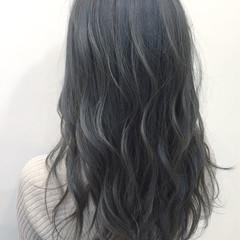 ブルージュ おフェロ 透明感 ナチュラル ヘアスタイルや髪型の写真・画像