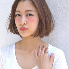 夏 大人かわいい ストリート ベージュ ヘアスタイルや髪型の写真・画像