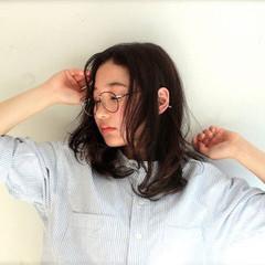 ヘアアレンジ 外ハネ パーマ ストリート ヘアスタイルや髪型の写真・画像