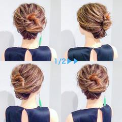 スポーツ ヘアアレンジ 上品 エレガント ヘアスタイルや髪型の写真・画像