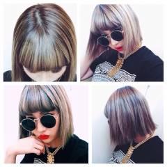 春 ストリート ボブ パンク ヘアスタイルや髪型の写真・画像