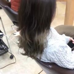 モテ髪 秋 透明感 セミロング ヘアスタイルや髪型の写真・画像