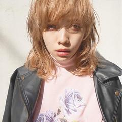 外国人風 パーマ ボブ ゆるふわ ヘアスタイルや髪型の写真・画像