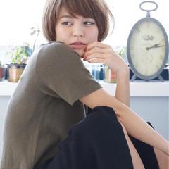 似合わせ 小顔 フェミニン ガーリー ヘアスタイルや髪型の写真・画像