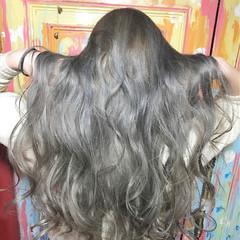 グラデーションカラー 透明感 外国人風 ロング ヘアスタイルや髪型の写真・画像