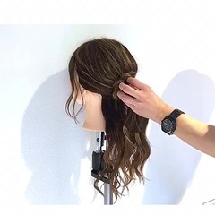 ルーズ アウトドア オフィス 女子会 ヘアスタイルや髪型の写真・画像