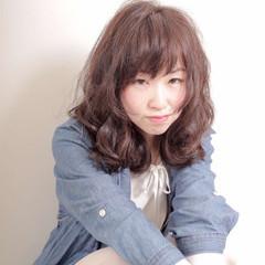 暗髪 ピュア ゆるふわ 大人かわいい ヘアスタイルや髪型の写真・画像