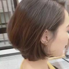 上品 オフィス 大人女子 ボブ ヘアスタイルや髪型の写真・画像