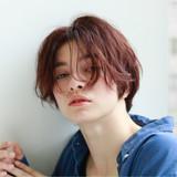 似合わせ ショート ナチュラル 簡単ヘアアレンジ ヘアスタイルや髪型の写真・画像
