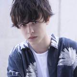 ショート 束感 メンズ ナチュラル ヘアスタイルや髪型の写真・画像   可愛いにはコツがある!ナチュラルizumi / Siena