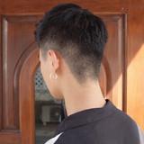 メンズショート ストリート ショート メンズ ヘアスタイルや髪型の写真・画像 | 刈り上げ・2ブロック専門美容師 ヤマモトカズヒコ / MEN'S GROOMING SALON AOYAMA by kakimoto arms
