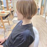 ベリーショート ナチュラル ショートヘア ショート ヘアスタイルや髪型の写真・画像[エリア]