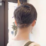 ツーブロック ベリーショート 刈り上げ 刈り上げショート ヘアスタイルや髪型の写真・画像[エリア]