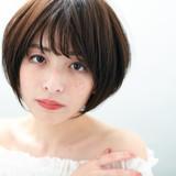 ナチュラル 小顔ヘア デート ボブ ヘアスタイルや髪型の写真・画像   桑野 健司 / UNIX KIRARITOGINZA店