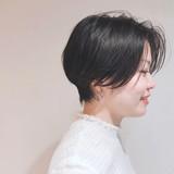 簡単スタイリング ショート ショートボブ アンニュイほつれヘア ヘアスタイルや髪型の写真・画像 | 山庄司 祐希 / KATE  omotesando