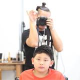ショート ボーイッシュ 子供 メンズ ヘアスタイルや髪型の写真・画像