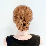 ロング 三つ編み ヘアセット くるりんぱ ヘアスタイルや髪型の写真・画像 | 美容師HIRO/Amoute代表 / Amoute/アムティ