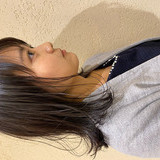 ミディアム インナーカラー ナチュラル オフィスヘアスタイルや髪型の写真・画像