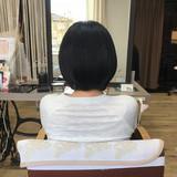 髪の病院 名古屋市守山区 髪質改善 エレガント ヘアスタイルや髪型の写真・画像