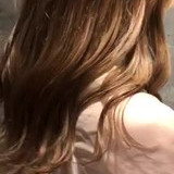 ロング ヌーディベージュ ストリート ベージュ ヘアスタイルや髪型の写真・画像