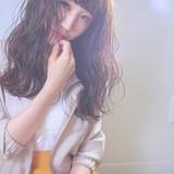 オフィス ロング フェミニン ヘアアレンジ ヘアスタイルや髪型の写真・画像   伊藤 裕貴 / LOAOL上小田井店