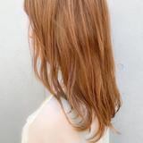 外ハネ レイヤーカット ナチュラル 大人かわいい ヘアスタイルや髪型の写真・画像 | 櫻木裕紀 / Agnos青山