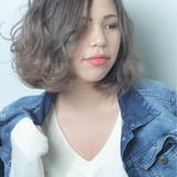 色気 ボブ デート 外国人風カラー ヘアスタイルや髪型の写真・画像