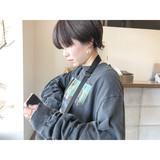 ベリーショート ショート ナチュラル マッシュショート ヘアスタイルや髪型の写真・画像[エリア]