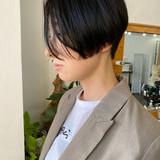 ショート モード ショートボブ ミニボブ ヘアスタイルや髪型の写真・画像