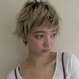 透明感 リラックス 秋 ショート ヘアスタイルや髪型の写真・画像