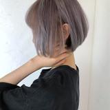 ハイトーン 外国人風カラー ガーリー 前髪あり ヘアスタイルや髪型の写真・画像