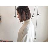 ミニボブ ショートボブ ショート ナチュラル ヘアスタイルや髪型の写真・画像[エリア]