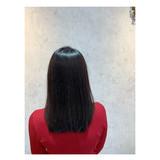 ナチュラル セミロング 艶髪 髪質改善トリートメント ヘアスタイルや髪型の写真・画像 | 角谷 崇 / hair  Cou Cou