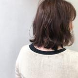 毛先パーマ 大人可愛い 大人女子 ナチュラル ヘアスタイルや髪型の写真・画像