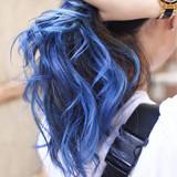 バレイヤージュ ハイライト グラデーションカラー ガーリー ヘアスタイルや髪型の写真・画像 | TAKEMI / BEBE 表参道