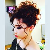 ミディアム グラマラス エレガント 上品 ヘアスタイルや髪型の写真・画像