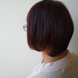 艶髪 ハイライト 白髪染め ナチュラル ヘアスタイルや髪型の写真・画像 | 北野陽平 / holm hair