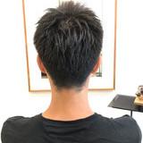 メンズパーマ メンズカジュアル ショート メンズ ヘアスタイルや髪型の写真・画像 | 山崎 涼太 / dRAWER