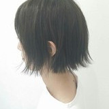 モード ボブ 色気 リラックス ヘアスタイルや髪型の写真・画像