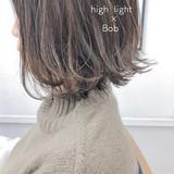 ボブ アンニュイほつれヘア 切りっぱなしボブ スポーツ ヘアスタイルや髪型の写真・画像