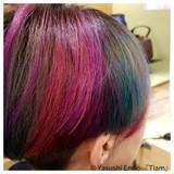 刈り上げ女子 大人ヘアスタイル ノースタイリング モード ヘアスタイルや髪型の写真・画像 | Yasushi Endo 『Tiam』 / Tiam Hair 弘明寺
