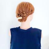 簡単ヘアアレンジ ロング 結婚式 夏 ヘアスタイルや髪型の写真・画像   美容師HIRO/Amoute代表 / Amoute/アムティ
