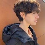 ショートヘア ナチュラル マッシュショート 大人ショート ヘアスタイルや髪型の写真・画像[エリア]